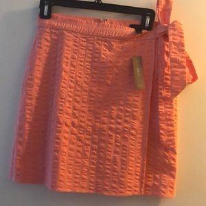 J Crew Faux-Wrap Skirt